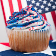 Fourth Of July Cupcakes — Photo