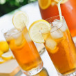 Stock Photo: Iced Tea Outdoors