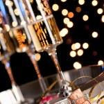 Sylwester szampana — Zdjęcie stockowe