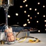 Capodanno champagne — Foto Stock