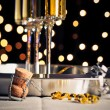 New Years Eve Champagne — Stock fotografie