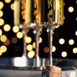 New Years Eve Champagne — Stock Photo
