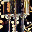 ストック写真: New Years Eve Champagne