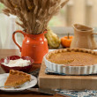 Pumpkin Pie — Stock Photo