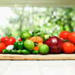 Salsa Ingredients — Stock Photo