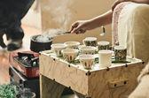 Ethiopian Coffee Ceremony — Stock Photo
