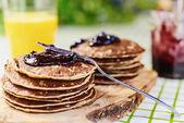 Spelt Pancakes — Stock Photo