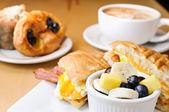 Breakfast Foods — Stock Photo