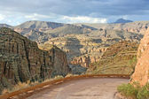 Apache Trail Road , Arizona — Stock Photo
