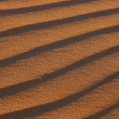 Texture of sand dune close up — Stock Photo