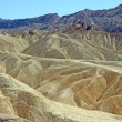 Badland formations in Death Valley NP — Stock Photo