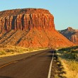 Scenic road UT 211 — Stock Photo