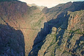 Royal Gorge - view from the bridge — Stock Photo