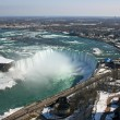 View at Niagara Falls from Skylon Tower — Stock Photo