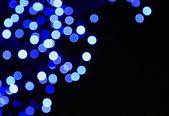 Luces azules borrosas — Foto de Stock