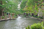 River Walk in San Antonio — Stock Photo