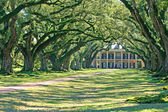 Oak Alley Plantation, Vacherie, Louisiana — Stock Photo
