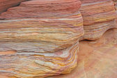 Colorful layers of sandstone — Stock Photo