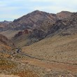 Stock Photo: Valley of Fire State park road