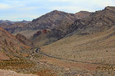 Valley of Fire State park road — Stock Photo