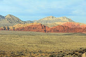 Landscape in Red Rock Canyon, Nevada — Stock Photo