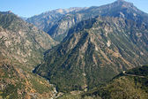Landscape in Kings Canyon NP — Stock Photo