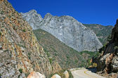 Road in Kings Canyon — Stock Photo