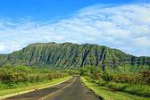 Road 93 in west Oahu — Stock Photo