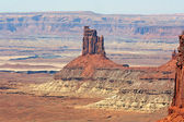Pinnacle in Canyonlands — Zdjęcie stockowe