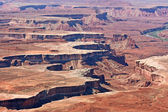 Eroded area in Canyonlands — Stock Photo