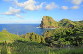 Landscape with Kahakuloa Head — Stock Photo