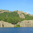 Sylvan Lake — Stock Photo