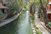River Walk of San Antonio — Stock Photo