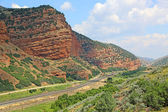 The track in Echo Canyon — Stock Photo