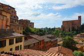 Panorama of Siena, Tuscany, Italy — Stock Photo