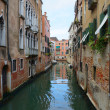 Narrow Venetian canals, Venice, Italy — Stock Photo
