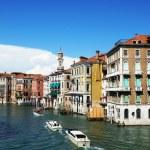canal grande a Venezia, Roma, Italia — Foto Stock