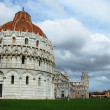 Field of miracles in Pisa, Italy — Stock Photo