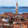 View of Venice from the bell tower of San Marco, Italy — Stock Photo