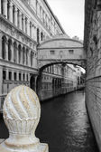 View of the Bridge of Sighs in Venice City, Italy — Stock Photo