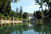 Villa d'este em tivoli, itália, europa. — Fotografia Stock