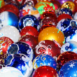 Stock Photo: Colorful collection of Christmas Balls useful as a background pa