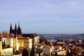Panorama of Prague, Czech Republic, Europe — Stock fotografie
