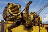 Antiguo motor eléctrico — Foto de Stock