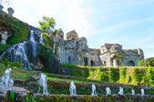 Villa d'Este in Tivoli, Italy, Europe — Stock Photo