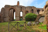The ruins of the Roman Forum, Italy — Stock Photo