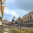 St. Mark's Square in Venice, Italy — Stock Photo