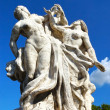 Stock Photo: Sculpture at Vittorio Emanuele II Bridge, Rome, Italy