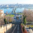 Chain Bridge in Budapest, Hungary — Stock Photo #38639837