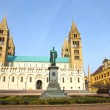 Stock Photo: St Peter and St Paul Baisilica, Pecs, Hungary